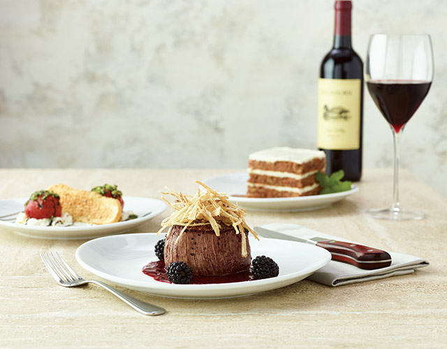 Summer Love Filet with Blackberry Glaze
