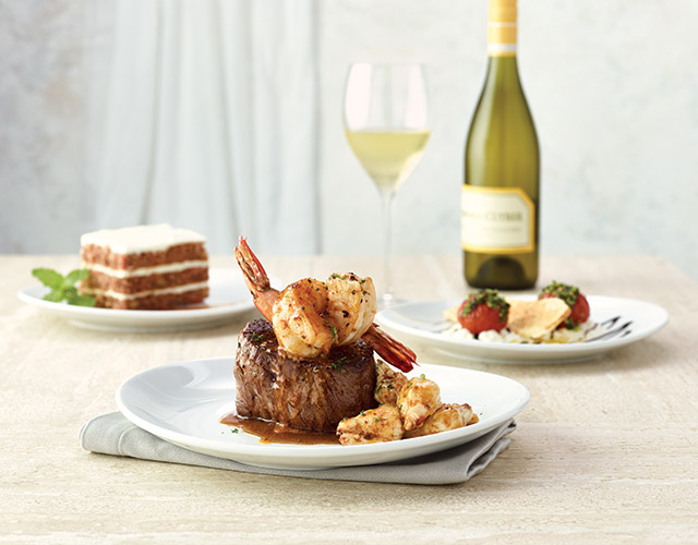 Summer Love Filet with Colossal Crab and Shrimp
