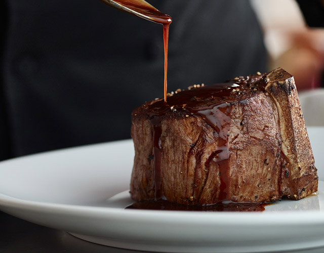 Filet Mignon and Sauce